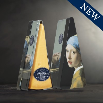 Reypenaer 1/32 in Girl with a Pearl Earring (Vermeer) Storage Tin - 350 g ℮